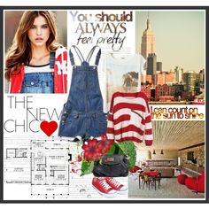 The Casual Chic by jeimtadije on Polyvore featuring Pull&Bear, Bluemint, Converse, Taschen, Marc by Marc Jacobs and converse
