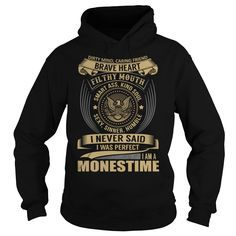 [Best stag t shirt names] MONESTIME Last Name Surname T-Shirt Discount Best Hoodies, Funny Tee Shirts