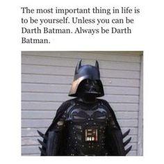 Darth Batman lol