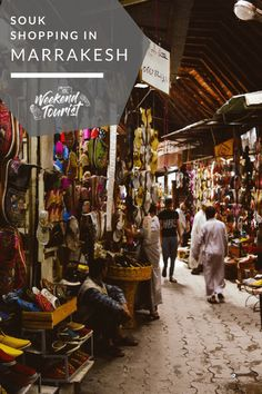 Souq shopping in Marrakesh, Morroco. Find out how we got lost in the Medina!