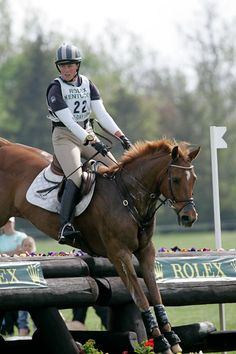 Anglo-Arabian Sport Horse :: Snooze Alarm at Rolex Snooze Alarm 1997 (Serazim ox x Wake Me Gently xx, Unpredicatable xx)