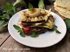 millefoglie di pane e verdure-ricetta veloce