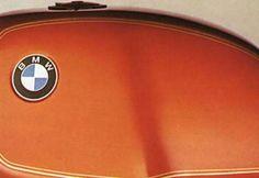 Burnt orange BMW