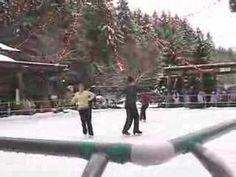 ▶Christmas skating at The Gardens