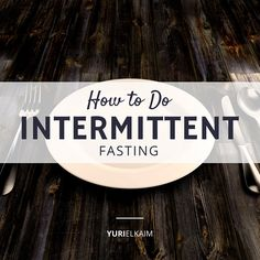 If you\\\'ve been wondering how to do intermittent fasting, I\\\'m going to provide you with the ultimate primer on this amazing dietary practice.You see, intermittent fasting is arguably the least expensive and most powerful healing method we can incorporate into our lives.Every religion has an element of fasting—whether it's 30 days ...