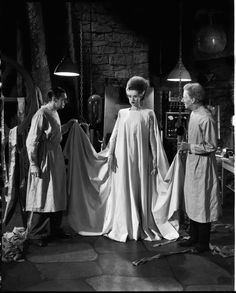 The Bride of Frankenstein!