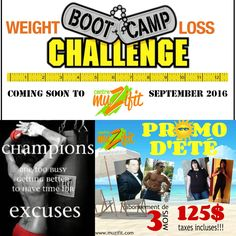 Always challenge yourself. www.muzifit.com 514-312-3214