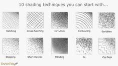 Pencil Shading Techniques Intro