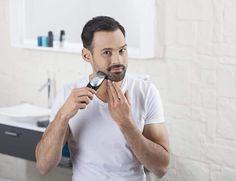 Máquinas de afeitar: guía para comprar la mejor del 2019 Polo Shirt, T Shirt, Air Force, Mens Tops, Beard Trimmer, Men, Beard Haircut, Tecnologia, Supreme T Shirt