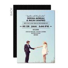 Floating Fairytale Wedding Cards