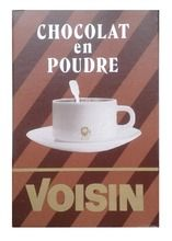 VOISIN HOT CHOCOLATE $6.30 This traditional preparation for hot chocolate will delight the connoisseurs. Its smooth texture and rich flavor make it quite the gourmet treat. Voisin is a renowned confectioner and coffee roaster based in Lyons. The company has stuck to high quality ingredients and traditional recipes ever since it was founded by Léon Voisin at the end of the 19th century. 250 grams / 8.8 oz French Food, Grocery Store, Hot Chocolate, 19th Century, Beverages, Smooth, Traditional, Texture, Coffee