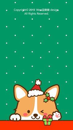Cat Wallpaper, Kawaii Wallpaper, Cute Wallpaper Backgrounds, Animal Wallpaper, Cartoon Wallpaper, Iphone Wallpaper, Cute Corgi, Corgi Dog, Cute Animal Drawings