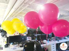 Una forma muy especial de decorar la oficina y hacer la jornada más divertida!