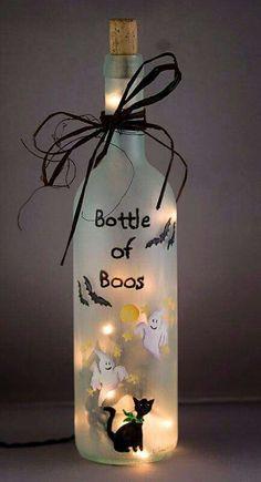 Halloween Bottle of Boos
