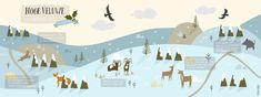 National Park Hoge Veluwe in the Winter by Studio Brun