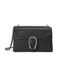 Gucci Handbags, Luxury Handbags, Purses And Handbags, Designer Handbags, Designer Purses, Gucci Shoulder Bag, Small Shoulder Bag, Gucci Dionysus Black, Gucci Black