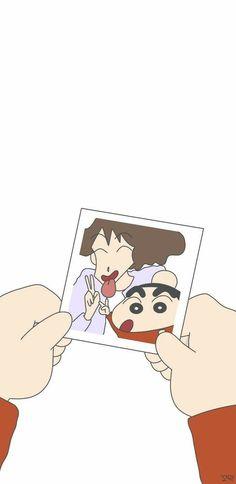 New wallpaper cartoon anime Ideas Sinchan Wallpaper, Cartoon Wallpaper Iphone, Cute Disney Wallpaper, Cute Cartoon Wallpapers, Sinchan Cartoon, Iphone Cartoon, Cute Cartoon Drawings, Crayon Shin Chan, Iphone Wallpaper Illustration