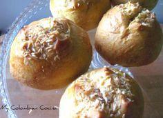 Pan de Coco, My Colombian Cocina