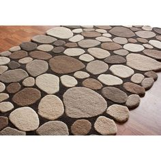 Have this rug in 2 sizes. Best investment ever! Gives the perfect modern, yet natural, flair to my log home.