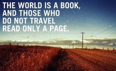 The world is a book....