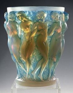 Bacchantes, Lalique. This one is from the 20's but has been brought back by Lalique in more modern times