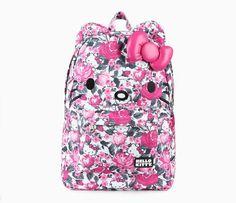 Hello Kitty 3D Backpack: Rose Garden