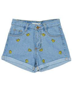 Banana Shorts http://shop.inu-inu.co/Banana-Shorts