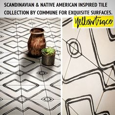 Native Tile Collection collaboration with Commune featured on Yellowtrace blog #tiles @communedesign @yellowtrace #blog #nativetiles #cementtiles #interiordesign #style #cement #tile #creativity #beauty #floor #backsplash #kitchen #floorcore #nativeamerican #handmadetiles