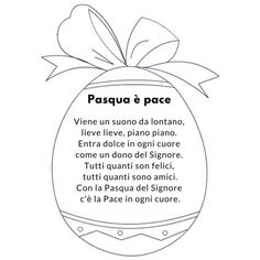 poesie pasqua Holidays And Events, Happy Easter, Crafts For Kids, Creative, Mamma, Google, Education, School, Italian Quotes