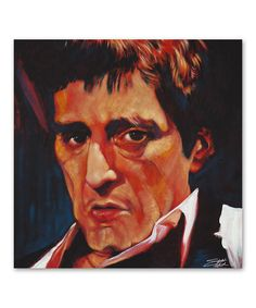 Look at this Al Pacino - Al Gallery-Wrapped Canvas on #zulily today!