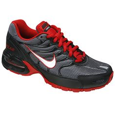 Athletic shoes for boys in black and red Air Maxtorch by NIKE