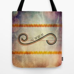 Ad Infinitum Tote Bag by Psocy Shop - $22.00  http://www.facebook.com/psocyshop