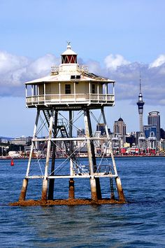 Bean Rock Lighthouse is the only surviving wave washed wooden cottage type lighthouse in New Zealand (the other Ponui Passage no longer stands) and is the oldest wooden lighthouse.