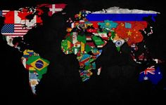 World Map 1600X900 wallpaper