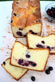 Chec cu cirese negre/Black cherries cake | gabriela cuisine - recipes