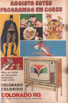 assista TV em cores