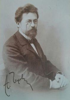 Received postcard from Russia #postcrossing Антон Павлович Чехов (1860-1904)