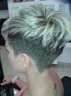 20.Asymmetrical Pixie Cut