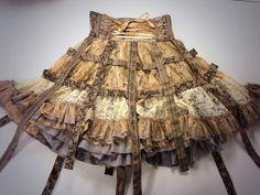 Beautiful birdcage steampunk skirt. (via h.NAOTO)