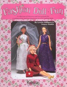 Free Fashion Doll Patterns - (in English); click on the cover; it will take you through the entire booklet; fabulous!