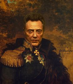 This would be a great addition to my collection  Christopher Walken - replaceface Art Print