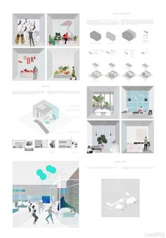 Archidose — Mango Vinyl Hub Valdonė Mitkevičiūtė and Greta. Architecture Model Making, Architecture Presentation Board, Architecture Collage, Presentation Layout, Architecture Graphics, Architecture Portfolio, Architecture Details, Interior Architecture, Architecture Diagrams