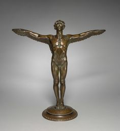 Rising Day, c. 1915  Adolph Alexander Weinman (American, 1870-1952)  bronze, Overall: h. 64.8 cm