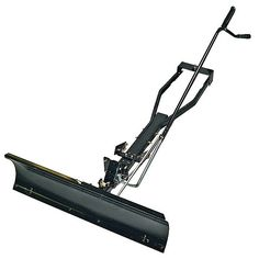 Lawn Mower with Plow Attachment | ... lawn mower with this craftsman snow plow blade you can use your lawn