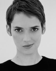Image result for winona ryder short hair