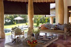 Living room.Villa BA JABULA- BUNGALOWS. Bali.