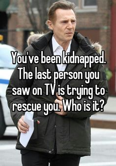 ANSWER: No one should try to kidnap me, they are gonna be in for it. Spider-Man will be trying to find me. You will be in some deep water.