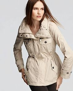 Loving this anorak by Burberry.