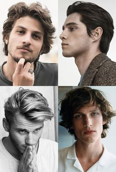 Men's Winter Hair - Textured Mid-length Hair #menshairstyles #menshair #texturedhair