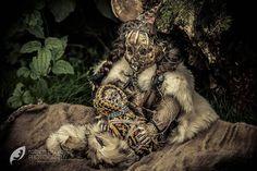Eskimo Mummy with baby Horror doll Promotion